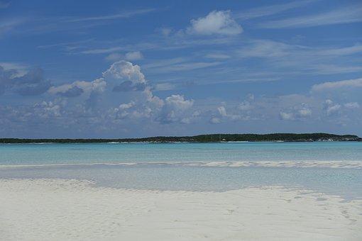 Bahamas, Sand Beach, Sea, The Summer Of 2017, Holiday