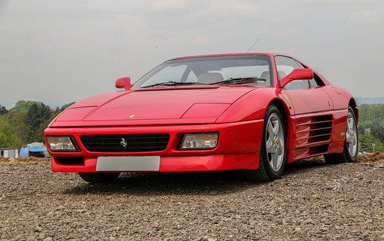 Ferrari 348, Ferrari, Supercar, Show, Autoshow, Style
