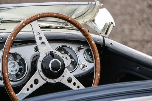 Steering Wheel, Wheel, Steering, Control, Car, Driving