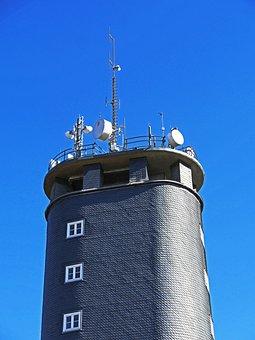 Telecommunication Tower, High Done, Sauerland, Slate