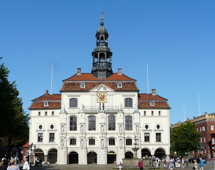 Lüneburg, Town Hall, Historic Old Town