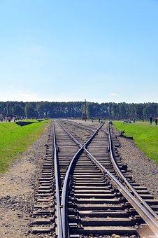 Poland, Train, Railway, Rail, Travel, Parallel