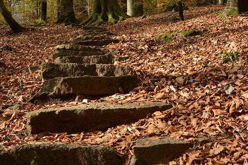 Stairs, Away, Gradually, Rise, Emergence, High, Upward