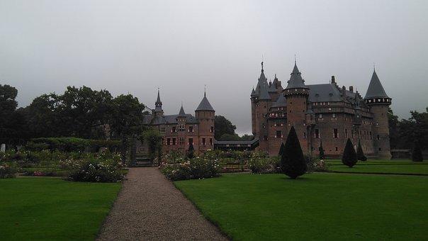 Castle De Haar, Utrecht, Holland