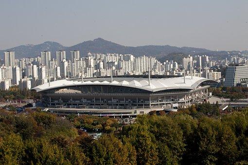 World Cup Stadium, Sangam, Republic Of Korea, Sky Park
