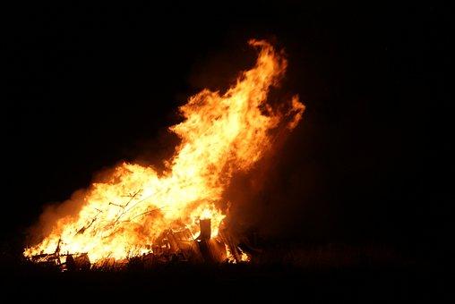 Bonfire, Scotland, St Combs, Aberdeenshire, Guy Fawkes