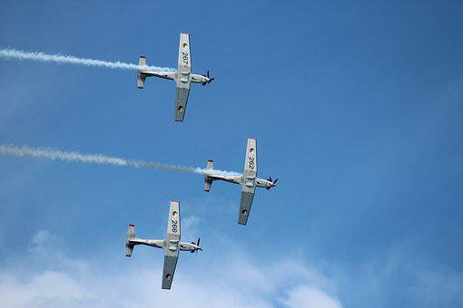 Airshow, Display, Team, Irish Air Corps, Trainers, Air