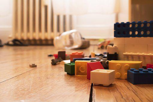 Bricks, Game, Building, Child, Room, Project, Beginning