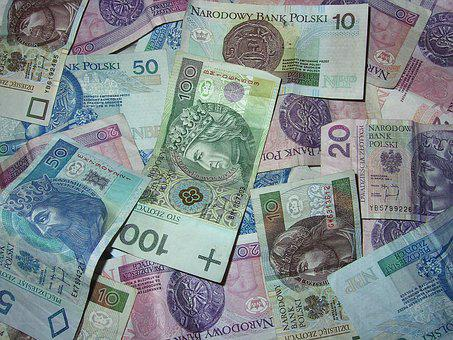 Money, Polish Banknotes, Buck, Currency, Savings, Safe