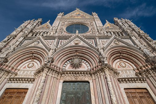 Church, Basilica, Historically, Landmark, Architecture