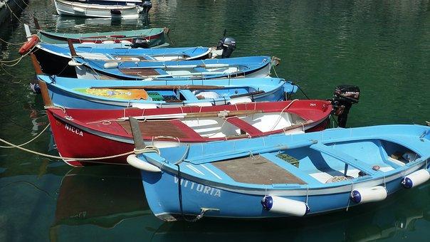 Boats, Cinqueterre, Liguria
