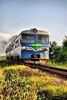Train, Railway, Railroad, Locomotive, Wagon, Europe