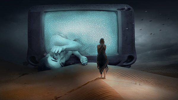 Fantasy, Tv, Woman, Desert, Creepy, Sand, Dry