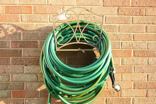Water Hose, Gardening, Lawn, Hose, Water, Garden, Green