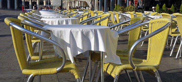 Garden Chair, Restaurant, Table, Sit, Rest, Gastronomy