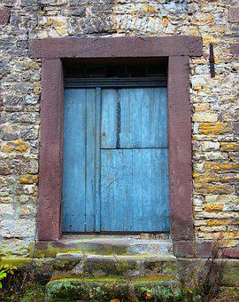 Door, Input, Gate, House Entrance, Old, Middle Ages