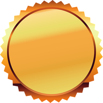 Seal, Gold, Certificate, Award, Gold Seal, Label