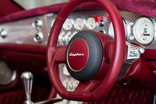 Spyker C8, Spyker, C8, Dashboard, Car, Automobile