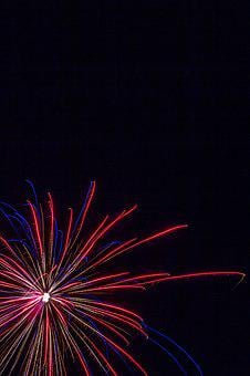 Fireworks, Starburst, Celebration, 4th July, Decoration
