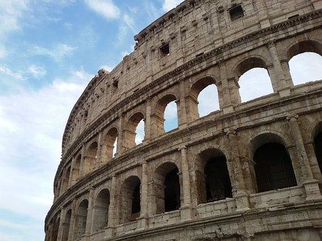 Colosseum, Amphitheatre, The Flavian Amphitheatre, Rome