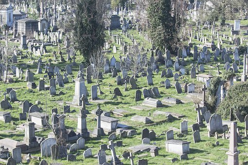 Cemetery, Graves, Die, Funeral, End Of Life, Tombstone