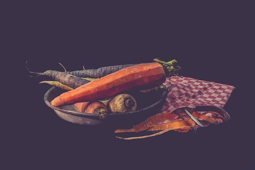 Vegetables, Still Life, Vintage, Old, Color, Photo
