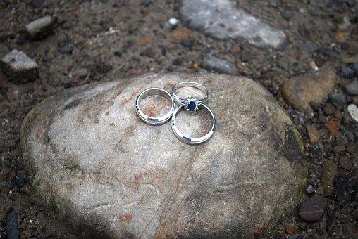 Wedding, Wedding Rings, Jewelry, Marriage, Gold, Love