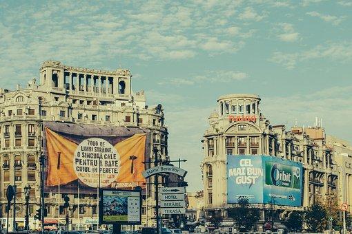 City, Architecture, Ad, Ads, Advertisement, Bizarre