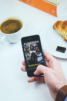 Al Jazeera, App, Apple, Arabic, Chocolate, Coffee