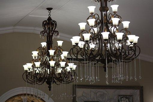 Light, Chandelier, White, Cool, Decoration, Lamp, Bulb