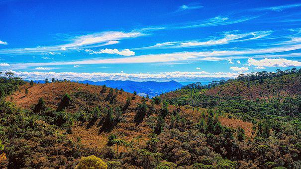 Campos Do Jordao, Mantiqueira, Serra, Hill, Mountain