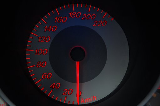 Black, Car, Gauge, Grey, Mazda, Meter, Orange, Speed