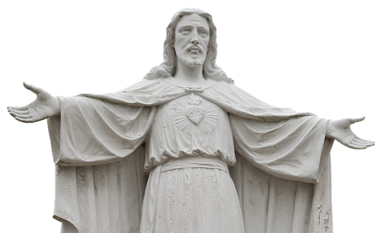 Jesus, Statue, Sculpture, Christianity, Figure
