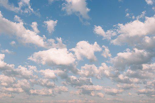 Nature, Background, Blue, Clouds, Countryside, Day