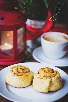 Food, Drinks, Christmas, Cinnamon, Coffee, Cup