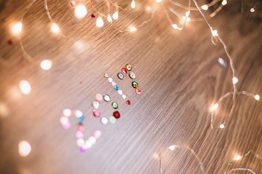 After, Background, Bokeh, Celebration, Color, Confetti