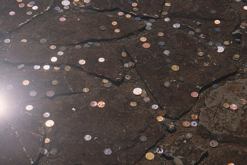 Bottom, Cash, Charm, Coins, Copper, Currency, Fortune