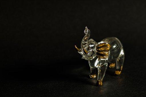 Elephant, Miniature, Small, Cute, Decoration, Souvenir