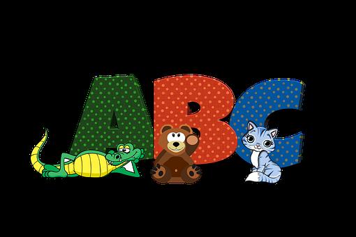 Abc, Alphabet, Education, Dictionary, Letters, Learn