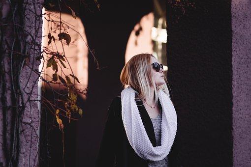 Fashion, People, Architecture, Autumn, Background