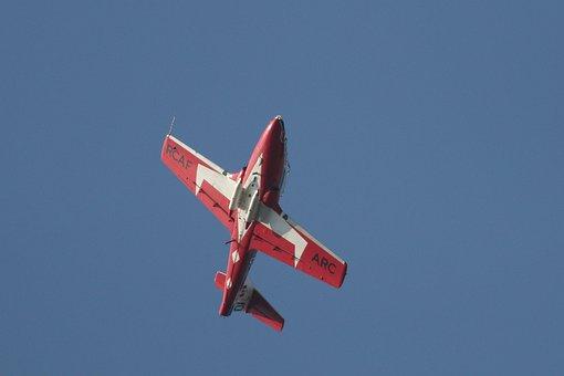 Snowbird, Fighter Jet, Flying, Aircraft, Airshow