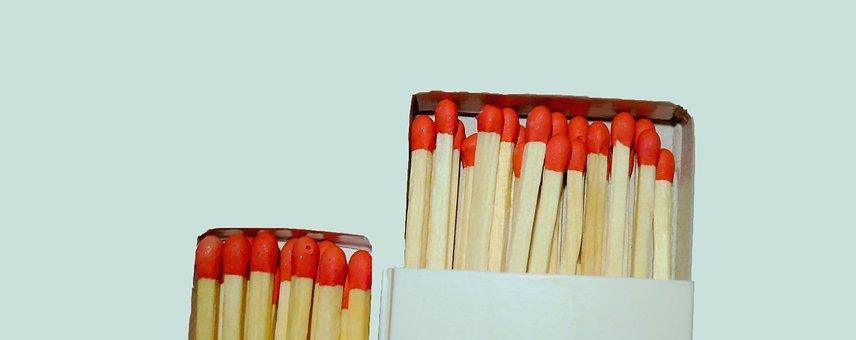 Matches, Fire, Kindle, Burn, Light, Heat, Burn Properly