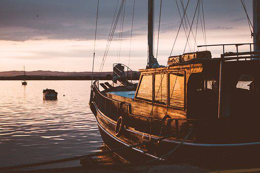 Nature, Boat, Bulgaria, Coast, Coastline, Dock, Docked