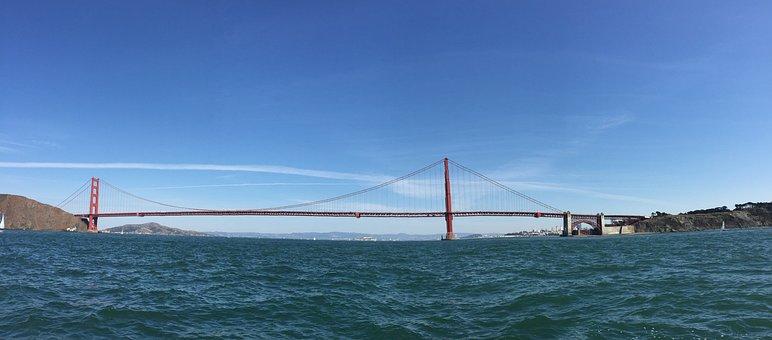 San Francisco, Golden Gate Bridge, Bridge, Usa