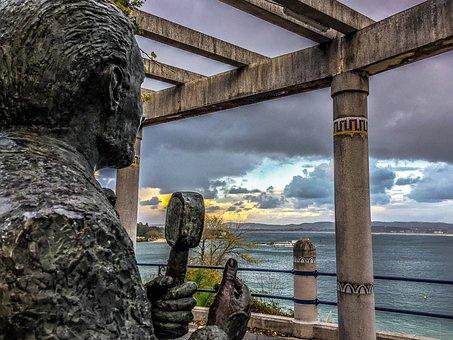 Sepulveda, Singer, Sea, Santander, View, Landscape