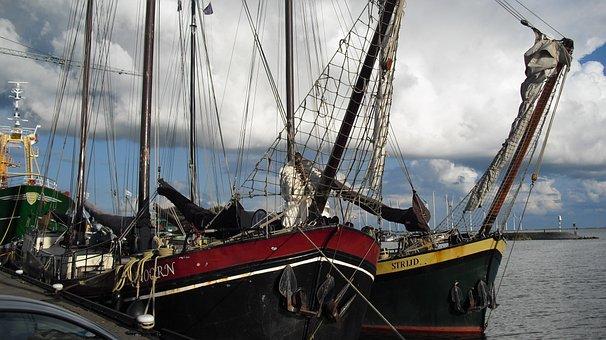 Boats, Ships, Urk, Port