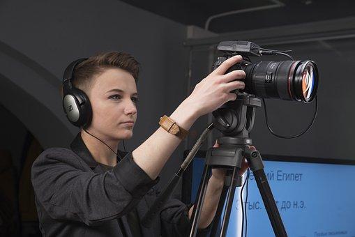 People, Shooting, Photo, Camera