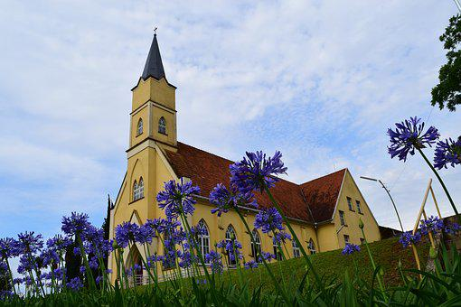 The Protestant Reformation, Church, Blue Sky, Sky