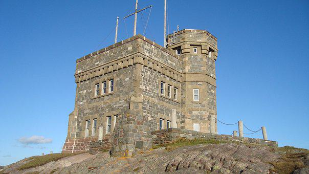 Cabot Tower, Signal Hill, St John's, Tower, Stone