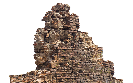 Ruin, Remains, Stone Wall, Lapsed, Old, Broken